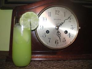 Absinthe Halloween Cocktail