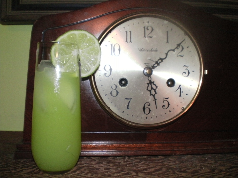 Absinthe Halloween Cocktail