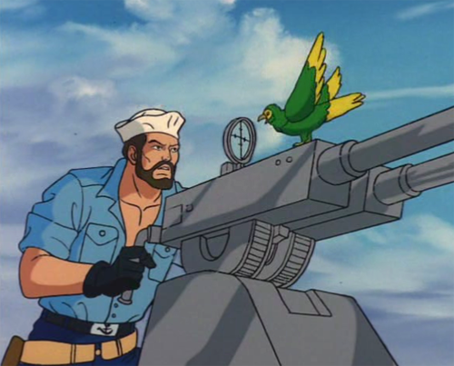 Shipwreck and GI Joe are properties of Hasbro