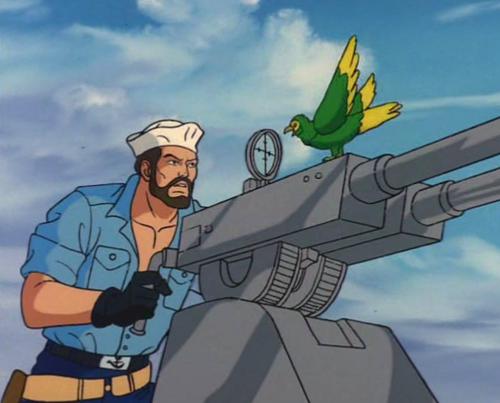 Shipwreck and GI Joe are properties of Hasbro
