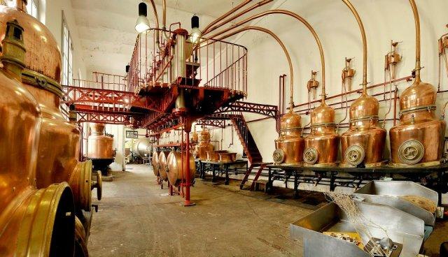 The Combier distillery